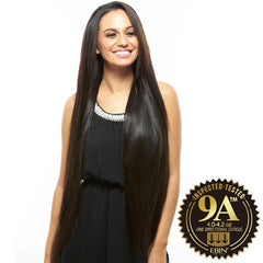 EBIN New York Unprocessed Brazilian Hair Weave - 9A STRAIGHT