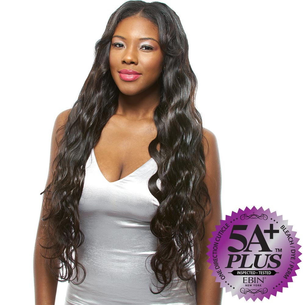 Ebin New York Unprocessed Hair Weave 5a Body Wave Combo 6pcs