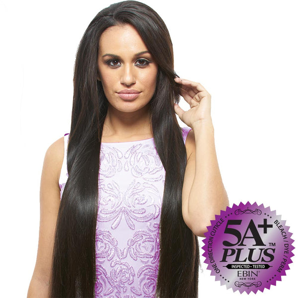 EBIN New York 100% Unprocessed Hair Weave - 5A+ STRAIGHT COMBO 6pcs