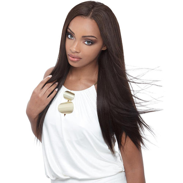 Janet Enhanced Brazilian Remy Hair Weave - YAKI