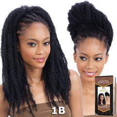 FreeTress Equal Drawstring Ponytail - JAMAICAN TWIST GIRL