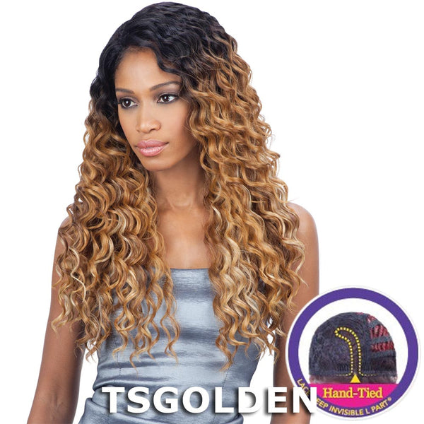 "FreeTress Equal Lace Deep Invisible ""L"" Part Lace Front Wig - KYLIE"