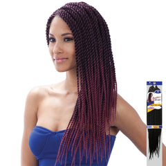 FreeTress Synthetic Hair Braid - SINGLE TWIST LARGE