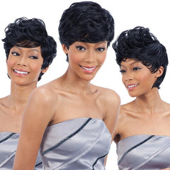 Design Your Own Styles Whole in One Weave - MODERN PIXIE 19PCS