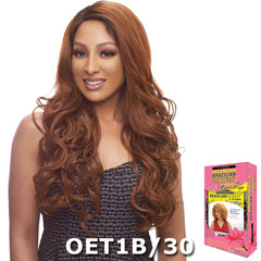 Janet Brazilian Scent Human Hair Blend Lace Front Wig - HARRIET