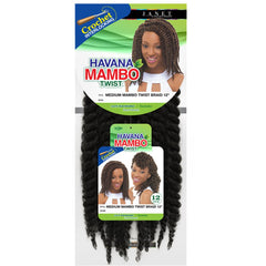 Janet Noir 100% Kanekalon Braid - HAVANA MEDIUM MAMBO TWIST 12""