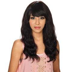 Hollywood Sis Unprocessed Brazilian Remy Hair Wig - STRAIGHT