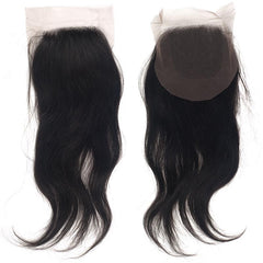 Hollywood Brazilian Free Parting Lace Closure - STRAIGHT