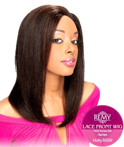 Hollywood Sis Remy Human Hair Lace Front Wig - HRH 17