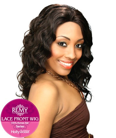 Hollywood Sis Remy Human Hair Lace Front Wig - HRH ASHANTI