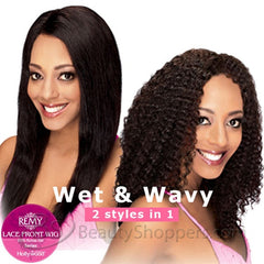 Hollywood Remy HRH Lace Front Wig - BRAZILIAN (WET & WAVY)