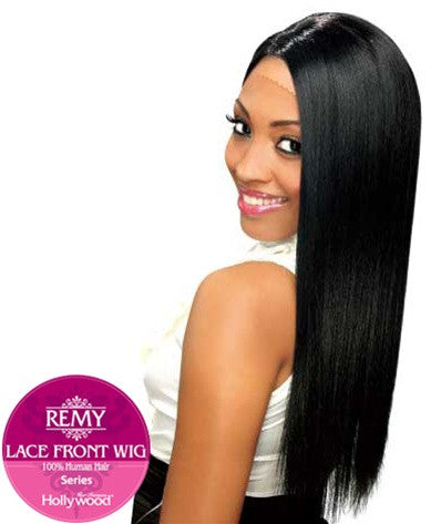 Hollywood Sis Remy Human Hair Lace Front Wig - HRH LONG