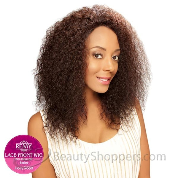 Hollywood Sis Remy Human Hair Lace Front Wig - BOHEMIAN (Wet & Wavy)