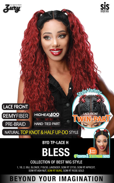 Zury Sis Beyond Twin-Part Lace Front Wig - BLESS 24""