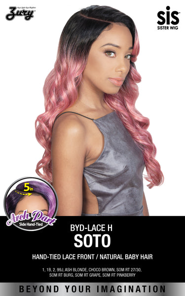 "Zury Sis Beyond 5"" Arch Part Lace Front Wig - SOTO"
