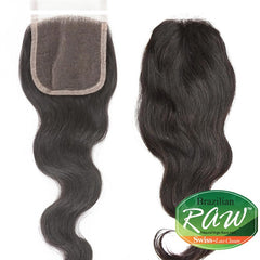 ISIS Raw Brazilian Hair Swiss Lace Closure - BRAZILIAN LACE CLOSURE 14""
