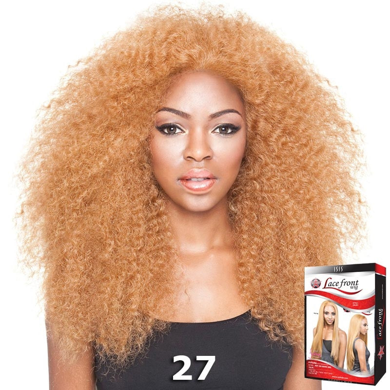 Isis Red Carpet Synthetic Hair Lace Front Wig Rcp717 Afro Kinky 18