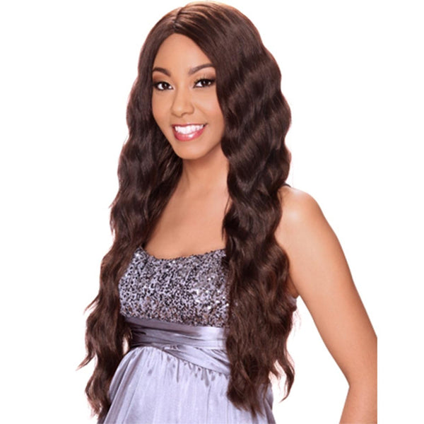 "Sis Invisible Lace Top Part Lace Front Wig - NESS (""C""-Part)"