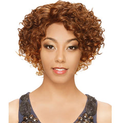 "Sis Invisible Top Part Lace Front Wig - EBONY (""C""-Part)"