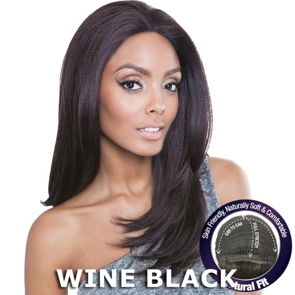 Mane Concept Brown Sugar Human Hair Blend Stretch Cap Lace Wig - BS702 TWINKLE