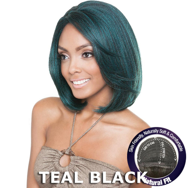 Isis Brown Sugar Human Hair Blend Flexible French Stretch Cap Lace Wig - BS701 ECLIPSE