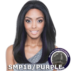 Isis Brown Sugar Human Hair Blend Flexible French Stretch Cap Lace Wig - BS702 TWINKLE