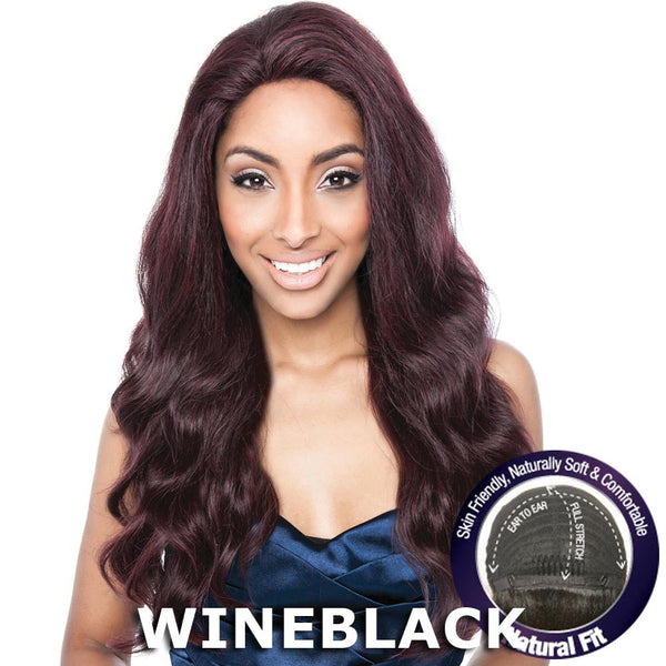 Isis Brown Sugar Human Hair Blend Flexible French Stretch Cap Lace Wig - BS704 STELLA
