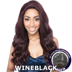 Mane Concept Brown Sugar Human Hair Blend Stretch Cap Lace Wig - BS704 STELLA