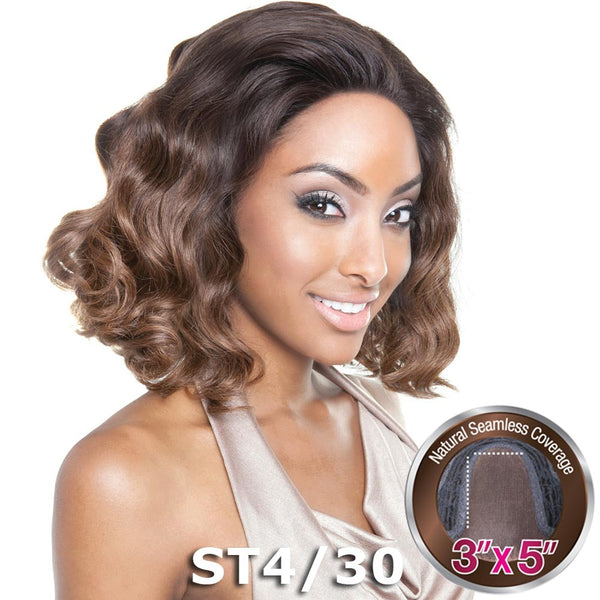 "Isis Brown Sugar Human Hair Blend Seamless Lace (3""X5"") Wig - BS501 VALENCIA"