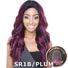 Mane Concept Brown Sugar Human Hair Blend Seamless Lace Wig - BS502 PARIS