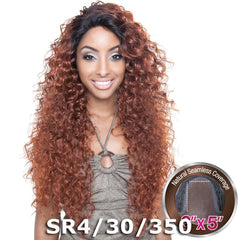 "Brown Sugar Human Hair Blend Seamless Lace (3""X5"") Wig - BS503 TAHITI"