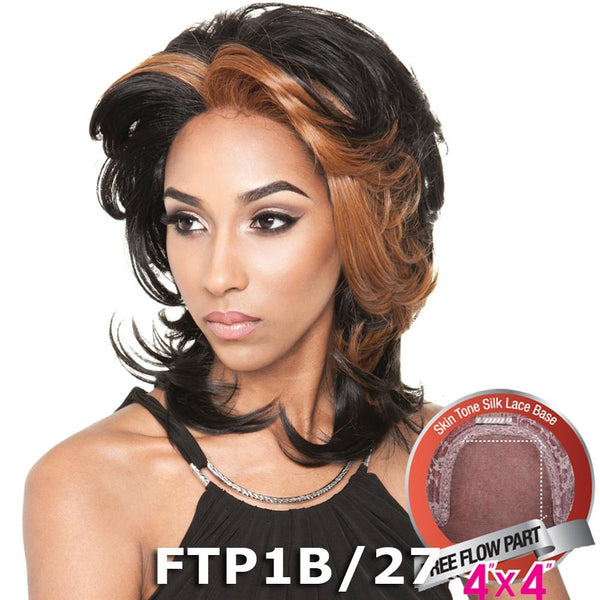 "ISIS Brown Sugar Human Hair Blend Silk Lace Wig - BS611 (4""X4"" Lace)"