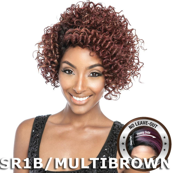 "Isis Brown Sugar Signature Part Soft Swiss Lace Front Wig - BSS204 EBONY (10"")"