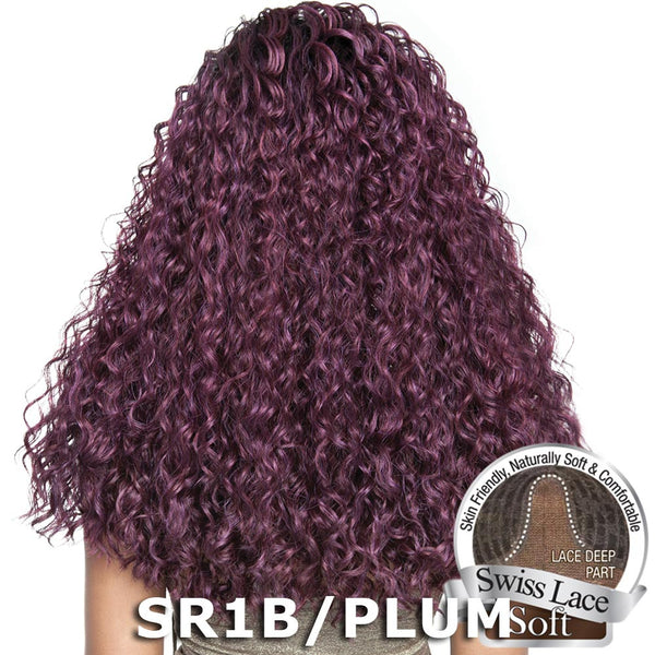 "Isis Brown Sugar Human Hair Blend Soft Swiss Lace Wig - BS220 (20"")"