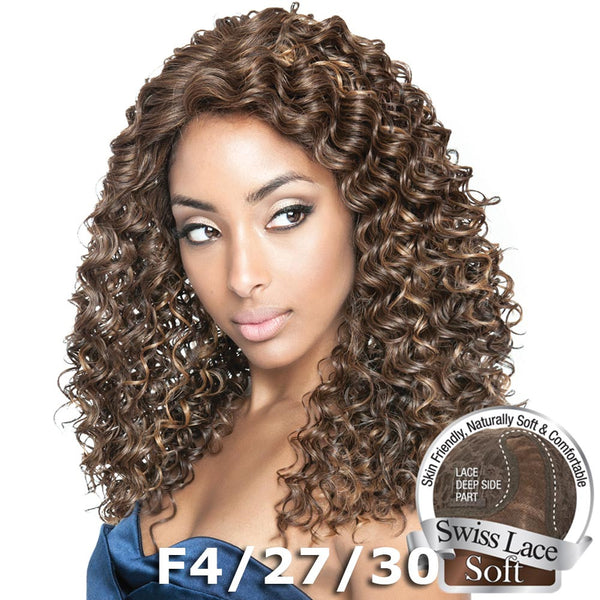 "Isis Brown Sugar Human Hair Blend Soft Swiss Lace Wig - BS221 (20"")"