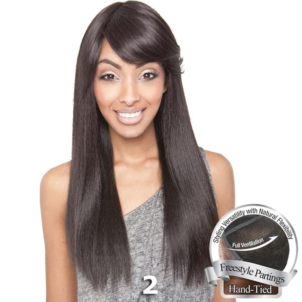 Brown Sugar Human Hair Blend Whole Lace Wig - BS402