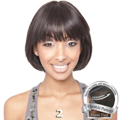 Isis Brown Sugar Human Hair Blend Soft Swiss Lace Whole Lace Wig - BS403
