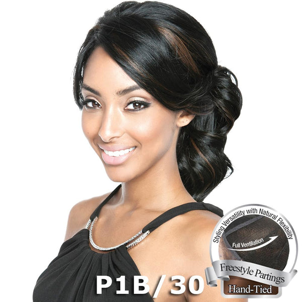 "Isis Brown Sugar Human Hair Blend Soft Swiss Lace Whole Lace Wig - BS404 (19"")"