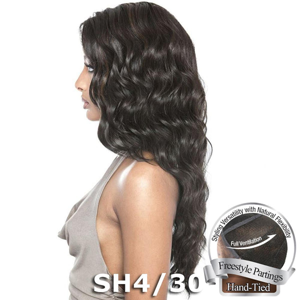 Isis Brown Sugar Human Hair Blend Soft Swiss Lace Whole Lace Wig - BS405