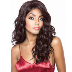 Brown Sugar Human Hair Blend Whole Lace Wig - BS407