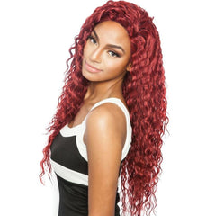 Mane Concept Brown Sugar Human Hair Blend Whole Lace Wig - BS409