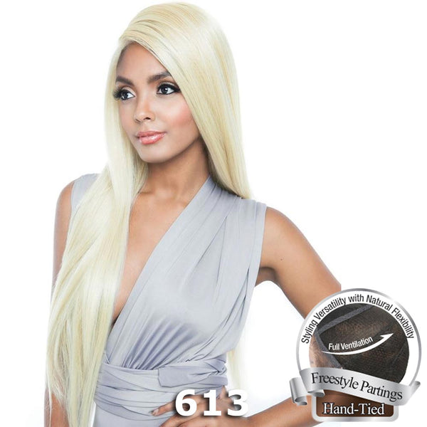 "Isis Brown Sugar Human Hair Blend Soft Swiss Lace Whole Lace Wig - BS491 (32"")"