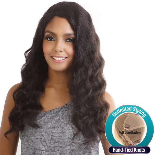 "Trill Brazilian Unprocessed Hair Whole Lace Wig - TRL402 (OCEAN WAVE 22""~24"")"