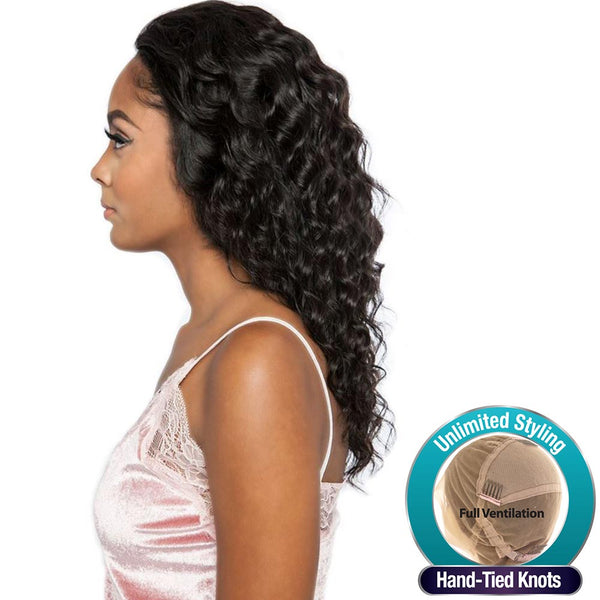 "Trill Brazilian Unprocessed Hair Whole Lace Wig - TRL4320 (Deep Wave 18""~20"")"