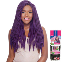 Janet 8 in 1 Pack Solution Braid - MAMBO FAUX LOCS 8PCS