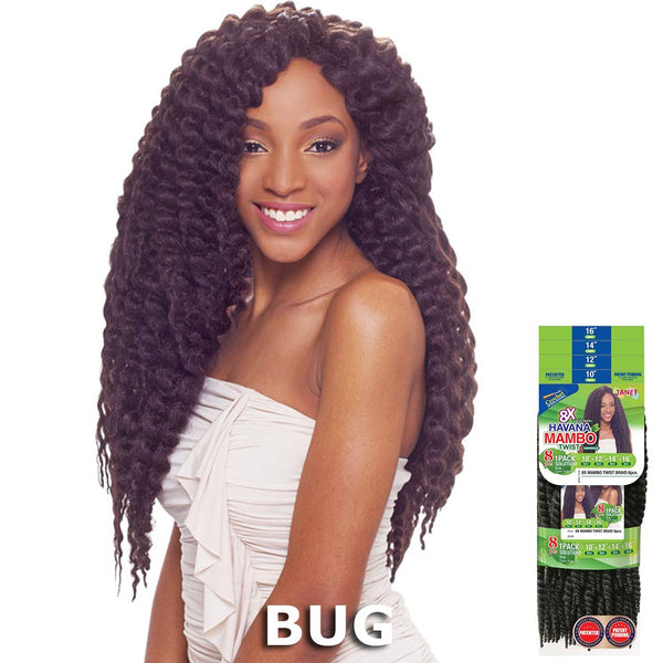 Janet 8 in 1 Pack Solution Braid - MAMBO TWIST 8PCS
