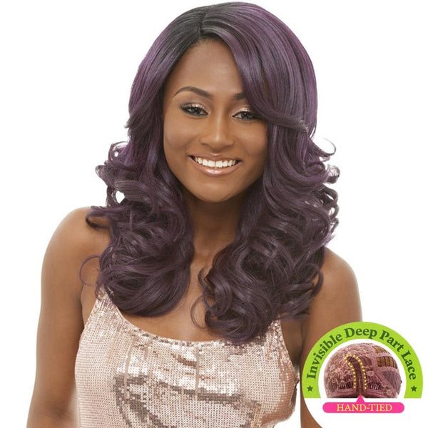 Janet Collection Super Flow Deep Part  Lace Wig - CHILLE