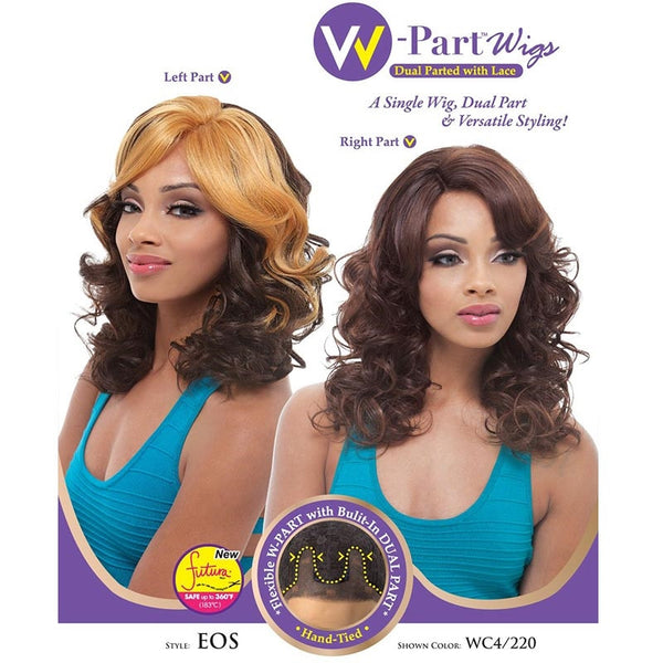 Janet Collection W-Part Lace Front Wig (Dual Part & Color) - EOS