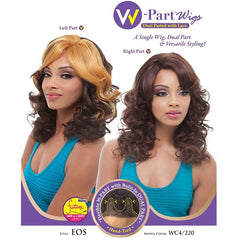 Janet Collection W-Part Wig (Dual Part & Color) - EOS