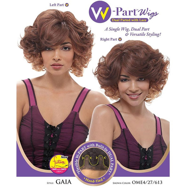 Janet Collection W-Part Lace Front Wig (Dual Part & Color) - GAIA